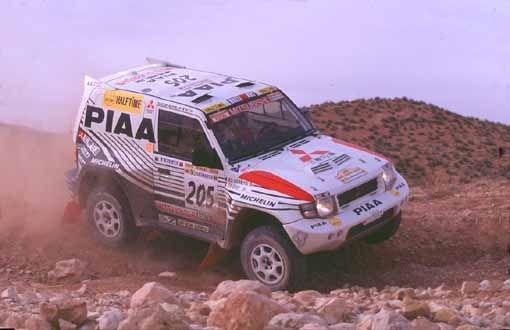 Dakar 1998 - Mitsubishi Pajero evo