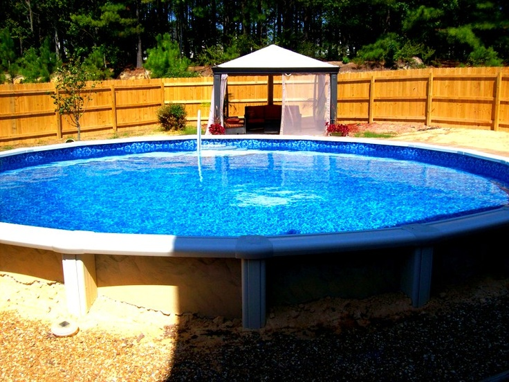 17 best images about above ground pool designs on - Beautiful above ground pools ...