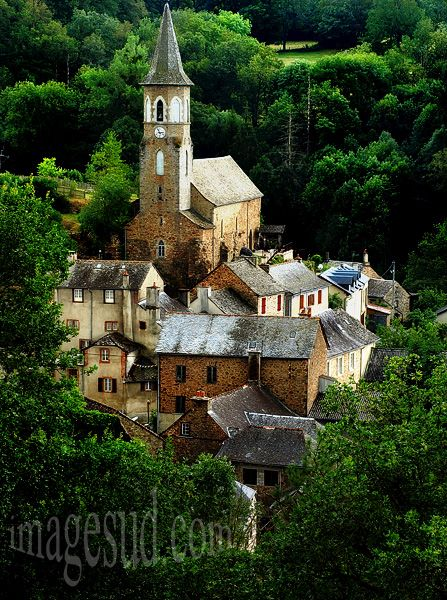 Tiny Medieval Village of La Couvertoirade ~ Aveyron - owned by Knights Templar