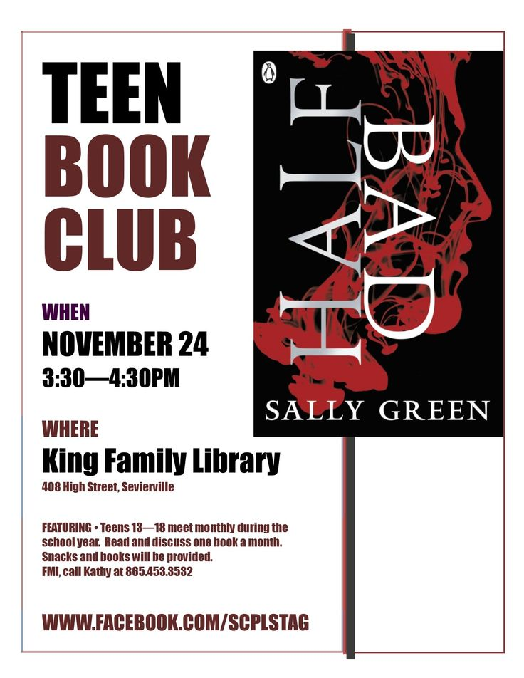 author clubs teen