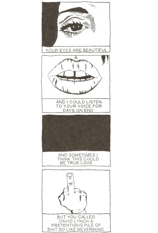 Witty David Lynch-Inspired Comics by a Precocious Teen Web Artist – Page 5 – Flavorwire
