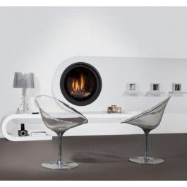 De #Wanders Cocos is een #gashaard met een uniek design, namelijk dat van een cirkel. #Gaskachel #Interieur #Fireplace #Fireplaces #Kampen