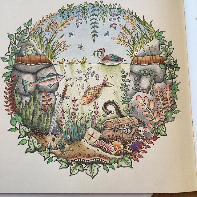 671 Best Images About Johanna Basfords Secret Garden And