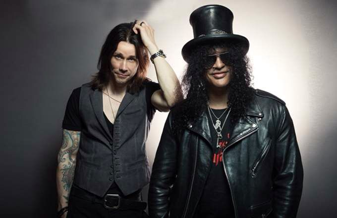 With Slash