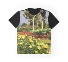 Sunny Roses Graphic T-Shirt