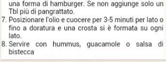 HAMBURGER DI FUNGHI E FAGIOLI NERI