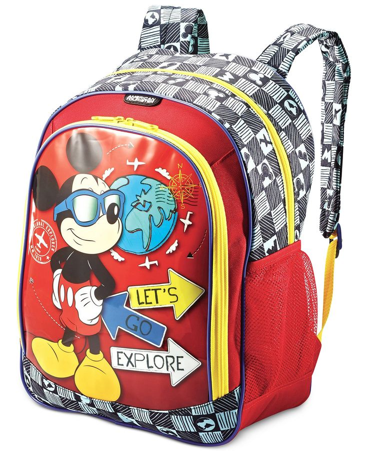 Disney Mickey Mouse Backpack by American Tourister - Backpacks - luggage & backpacks - Macy's