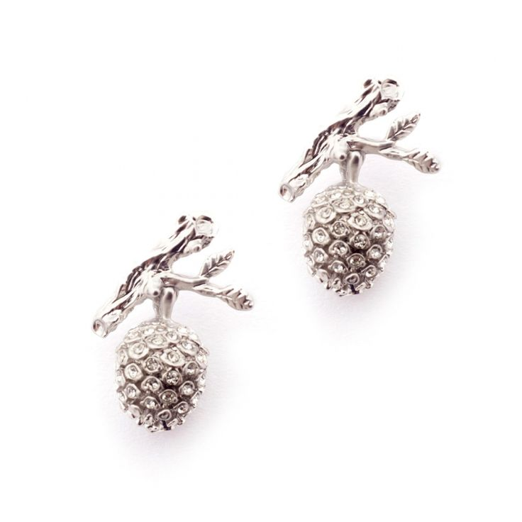 Pinecone Earring Pave | Fashion Jewellery