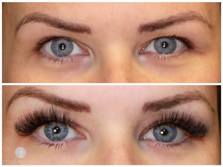 Vippeextensions volum vipper volume lashes XD lashes