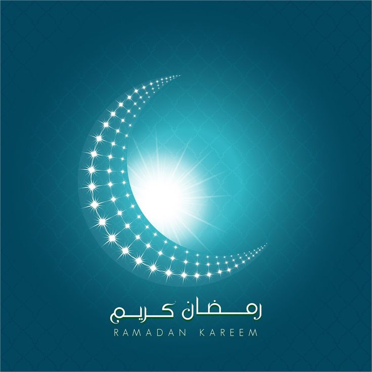 Vector Ramadan Kareem Crescent moon wallpaper