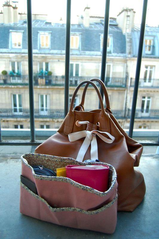 Mon sac est bien rangé, ou un organisateur de sac super pratique