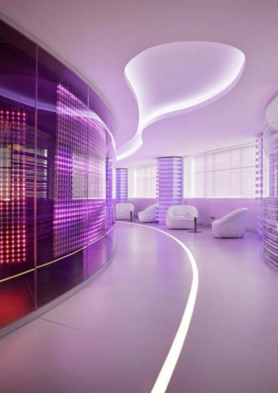 Ibm executive briefing center by iosa ghini entrance ideas luxury office and office designs - Futuristic interion design ideas ...