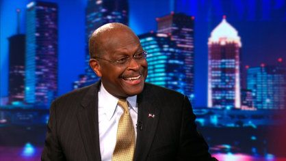 Exclusive - Herman Cain Extended Interview Pt. 1 | In this exclusive, unedited interview, Herman Cain cites a difference of style and personality as the reason for his enduring popularity, relative to Mitt Romney's popularity.