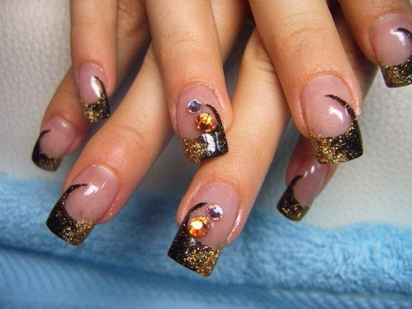 Gel Nail Designs For Fall - 2618 Best Gel Nail Designs Images On Pinterest Glittery Nails