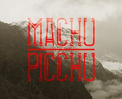 Tikal Font Machu Picchu (rrchrdd) Tags: brazil peru southamerica inca typography ancient maya aztec culture font type letter aztek glyphs southamerican tikalfont richardderuijter