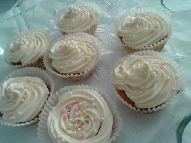 Cupcakes con crema di burro!