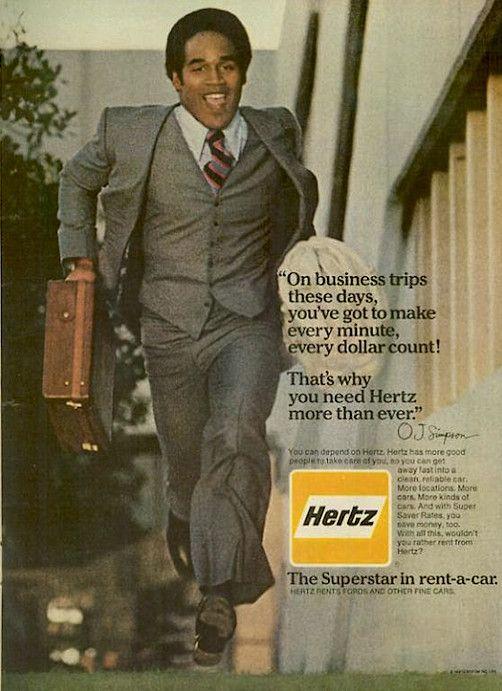Vintage O.J. Hertz ad!! .... Dc