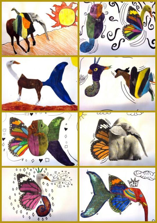animals surrealistes