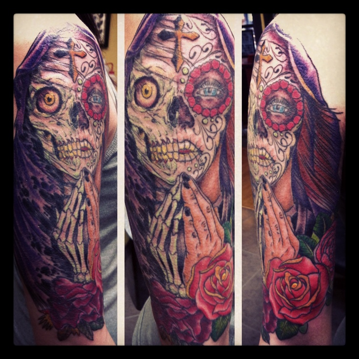 261 best images about day of the dead tattoos on for Tattoo corpus christi