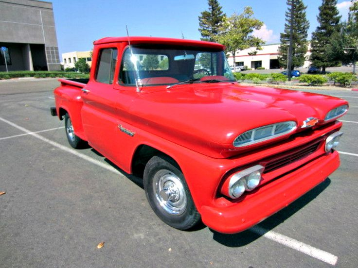 1960 Chevy Apache C10 Stepside Short Bed Pickup on ...