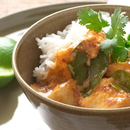 Thai Red Curry with Fish