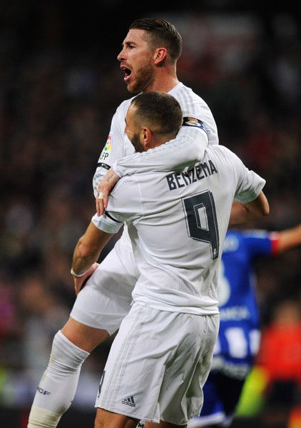 Ramos and Benzema <3
