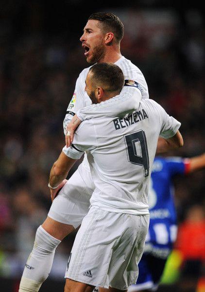 Ramos and Benzema <3