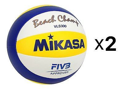 Volleyballs 159132: Mikasa Official Fivb Beach Champ Volleyball-2016 Olympic Game Ball (2-Pack) -> BUY IT NOW ONLY: $100.45 on eBay!