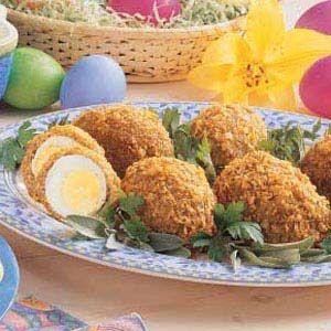Scotch Eggs | Recipe | Eggs, Sausages and Ovens