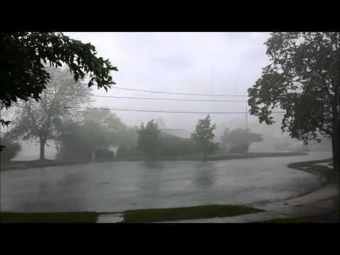 Sideways Rain Storm, Harrisburg, PA