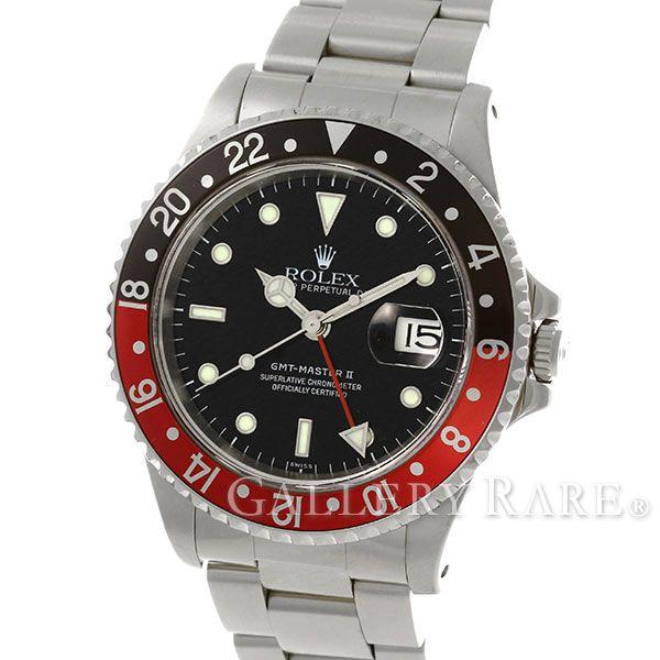 ロレックス GMTマスター2 デイト U番 16710 ROLEX 腕時計