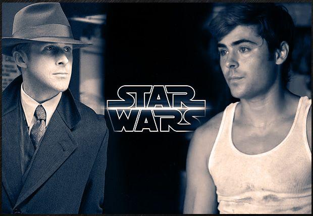 Nuevos rumores sobre Star Wars VII: Ryan Gosling y Zac Efron suenan como posibles candidatos para el 7º Episodio de la saga. Las primeras especulaciones apuntan a que Gosling interpretaría al hijo de Luke Skywalker, mientras que Efron sería el de Han Solo. La próxima convención de Disney, D23 Expo, se celebrará del 9 al 11 de agosto en California, y podría ser el lugar elegido para develar los nombres de los miembros del reparto de esta nueva entrega de la franquicia.