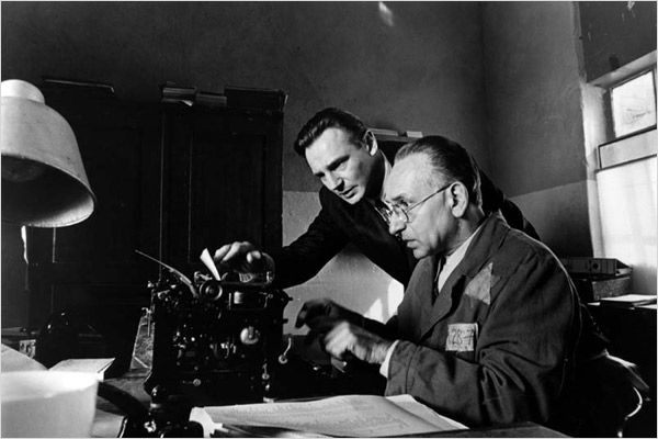 A Lista de Schindler - Ben Kingsley e Liam Neeson