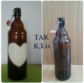 TAK - Twórczo Aktywnie Kreatywnie: Lampka z butelki