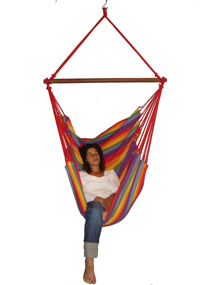 newline hanging chair xl rainbow     quality brazilian hanging chair made of cotton and hardwood spreader mara  on hammocks uk 71 best hammocks images on pinterest   hammocks hammock and      rh   pinterest