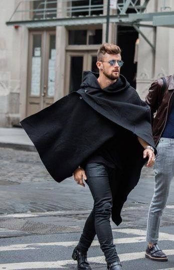 Respectable poncho wrap action