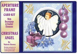 Aperture Frame Kits - Christmas Angel