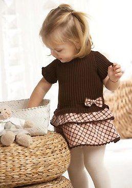 Комбинация ткань+вязание для девочек. Комментарии : LiveInternet - Российский Сервис Онлайн-Дневников