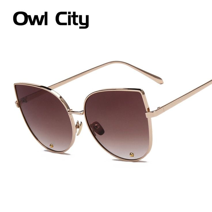Newest Elegant Sunglasses Cat Eye Sun Glasses Women Luxury Brand Designer Alloy Frame Women Glasses Female Sunglass by zdzdbuy Item specifics Eyewear Type: Sunglasses Item Type: Eyewear Gender: Women Department Name: Adult Frame Material: Alloy Lenses Material: Polycarbonate Lens Height: 55mm Style: Cat Eye Lens Width: 60mm Lenses Optical Attribute: UV400 Brand Name: Owl City Model Number: S16049 Characteristic: UV400 Protection against harmful UVA/UVB RAYS Product quality: Excellent…