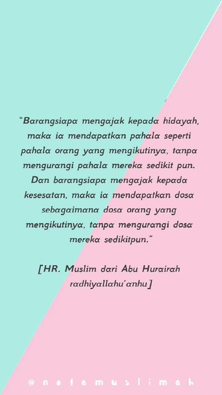 ayo hijrah motivasi kutipan dinding kutipan