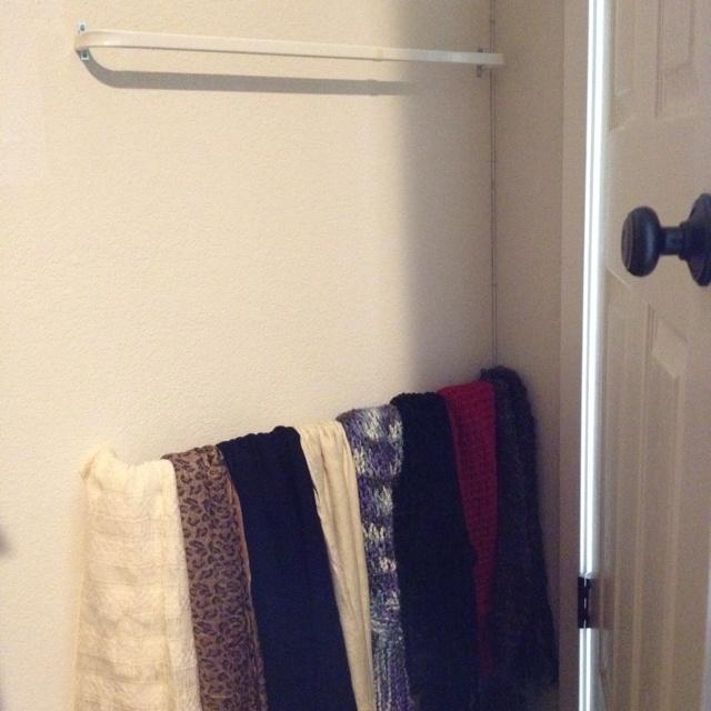 Best 25+ Organizing scarves ideas on Pinterest