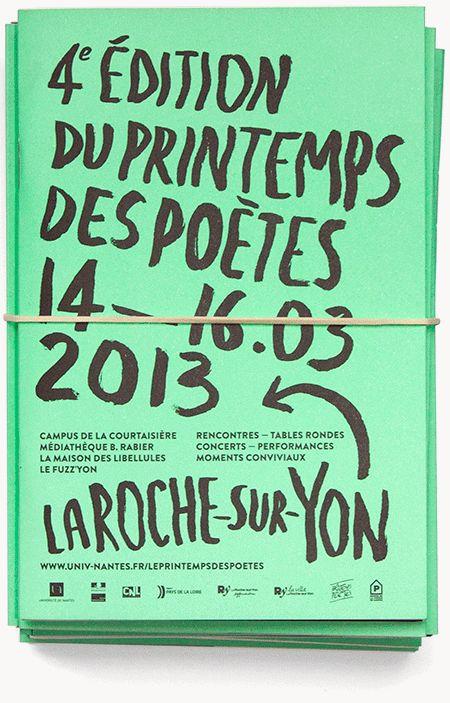 Antonin Faurel: le Printemps des poètes
