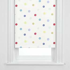 Dots are always a popular print for children's rooms