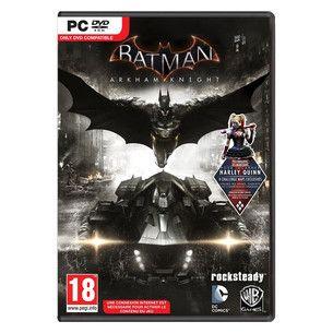 """Batman Arkham Knight disponible ici.  """"BATMAN ARKHAM KNIGHT"""" - Bande Annonce / Gameplay Officiel """"OFFICER DOWN"""". Ce nouveau Batman Arkham est la suite de """"BATMAN ARKHAM CITY"""" par Warner Bros Games. Depuis la mort du Joker, Gotham a connu des temps de paix. Mais bientôt le chaos s'installe de nouveau avec plusieurs grands méchants de Batman : Le Pingouin, Double Face, l'Épouvantail ou encore Harley Quinn."""
