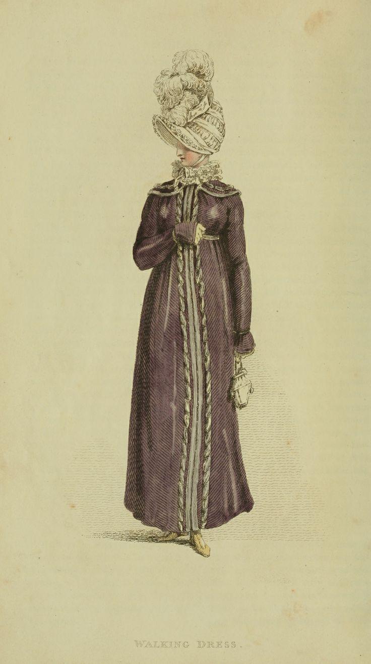Regency fashion plate the secret dreamworld of a jane austen fan - Walking Dress Ackermann S Repository March 1815