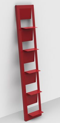 Pampero Bookcase Red by Matière Grise