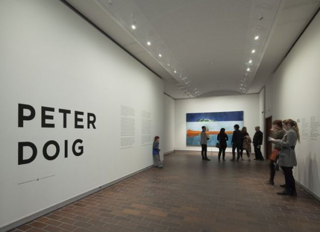 Installationshot from the exhibition PETER DOIG, 17.4.2015 - 23.8.2015, Louisiana Museum of Modern Art. #peterdoig #painting #fluidworld #louisianamuseum #louisianamuseumofmodernart #louisiana
