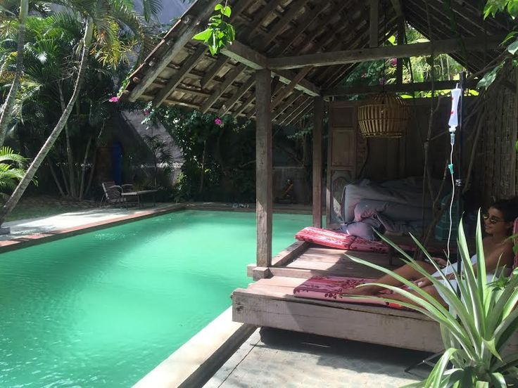 Cure your hangover by the pool with The Dose Bali