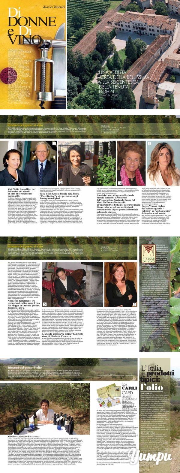 http://www.donnaimpresa.com Donna Impresa Magazine - Magazine with 9 pages: Donna Impresa Magazine