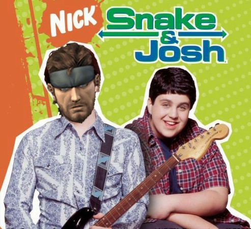 #Metal #Gear #Solid #Ps1 #Ps2 #Ps3 #Ps4 #Nickelodeon #Nick #Drake #And #Josh #Snake  Solid #Naked #Gaming #Funny #Guitar
